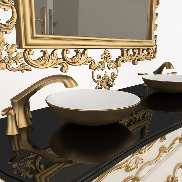 classic washbasin set