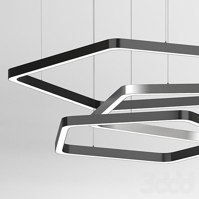 Подвесной светильник Pentagon от Forstlight