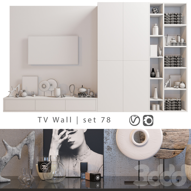 TV Wall | set 78