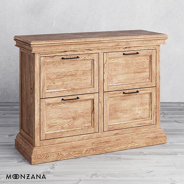 OM Комод Репаблик с ящиками 2 секции Moonzana