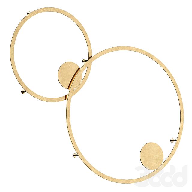 Настенный светильник Brass Ring от Forstlight