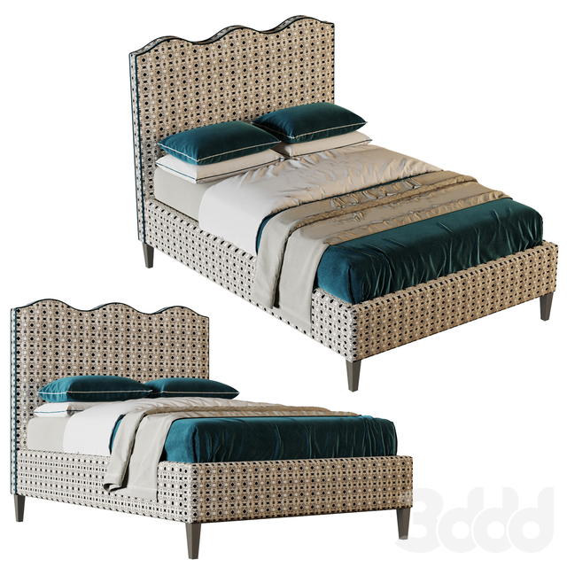 Rooma Bed Mint