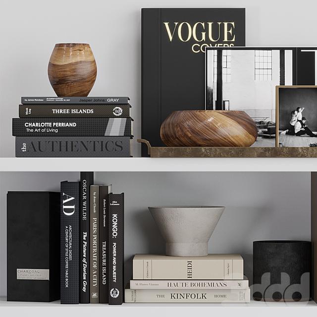 Decor shelf set 3