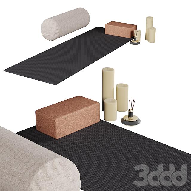 Стильный набор для йоги