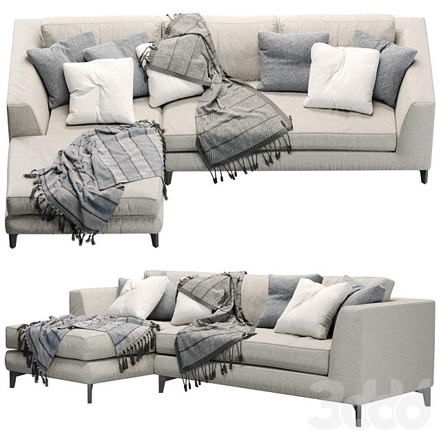 meridiani LOUIS UP sofa