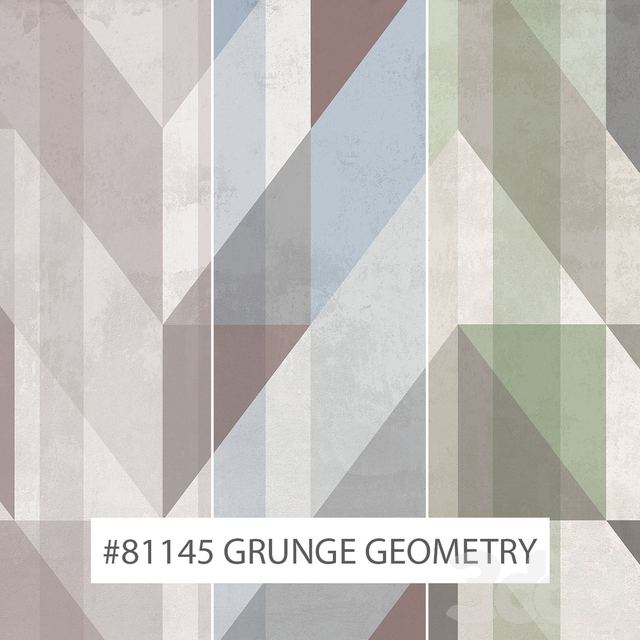 Creativille | Wallpapers |  81145 Grunge Geometry