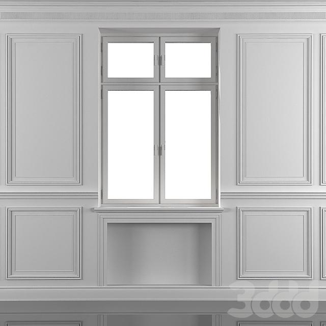 Шторы с окном 75