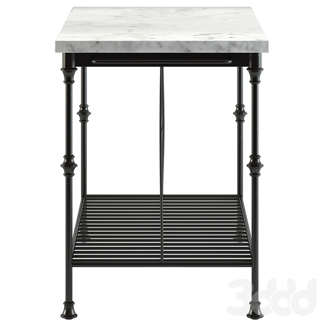 Crate and Barrel / French Kitchen Island