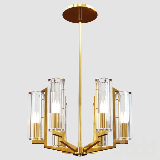 The Vault - The Seneca Transitional Pendant Light