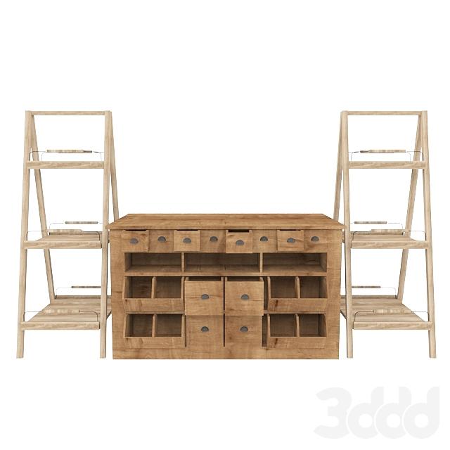 Cabinet for delicatessen