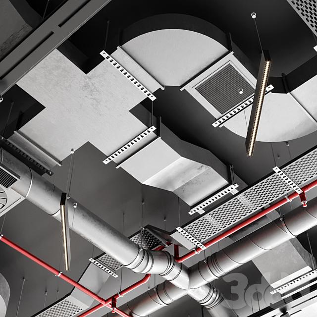 Индустриальный потолок SAS International 2