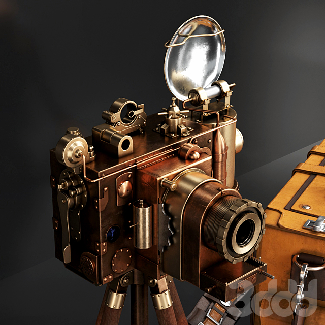 Steampunk Camera set