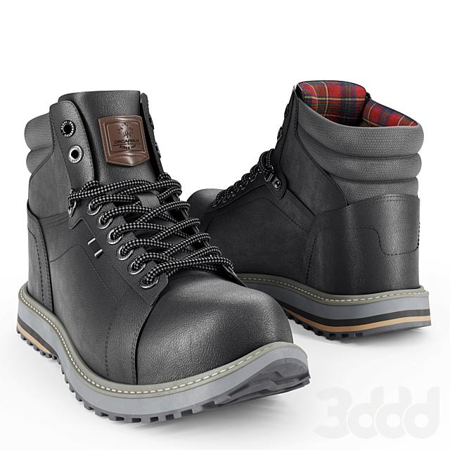 DECARSDZ Men Boots_black