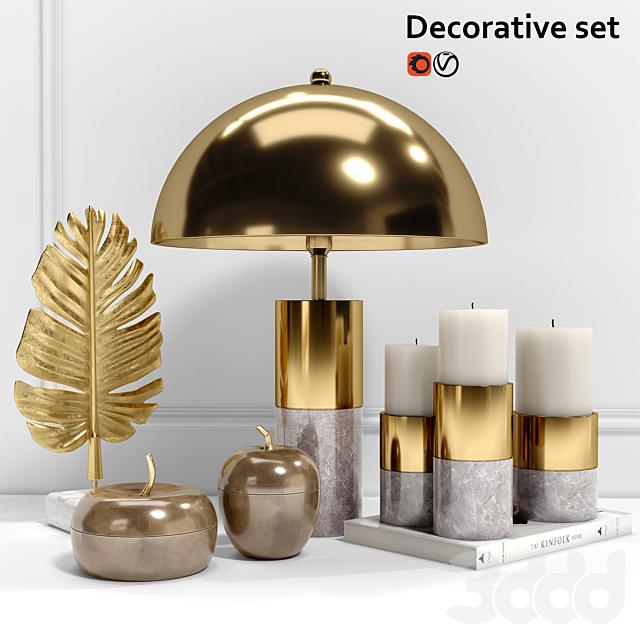 Decorative set Eichholtz
