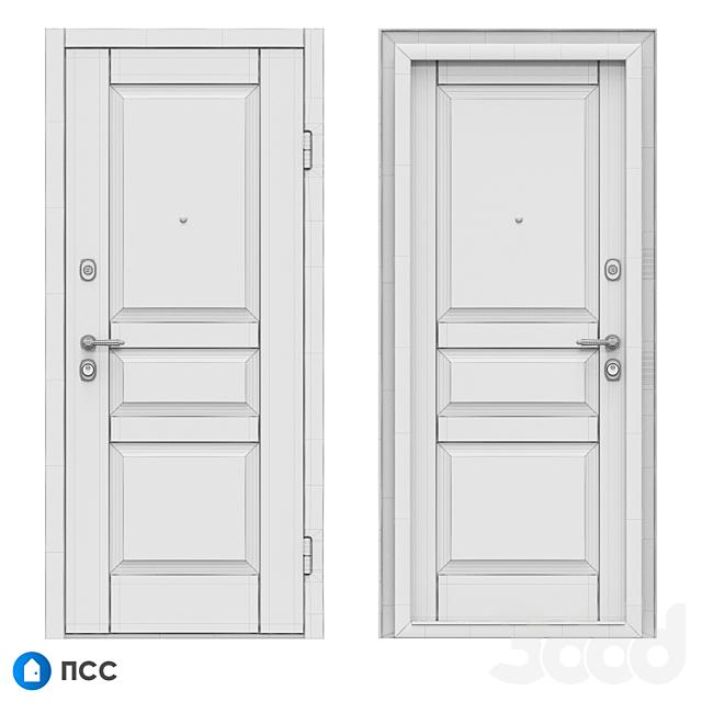 OM Входная дверь ЭКО (ЭКО-70) - ПСС