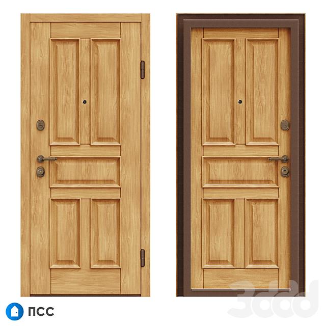 OM Входная дверь ЭКО (ЭКО-77) - ПСС