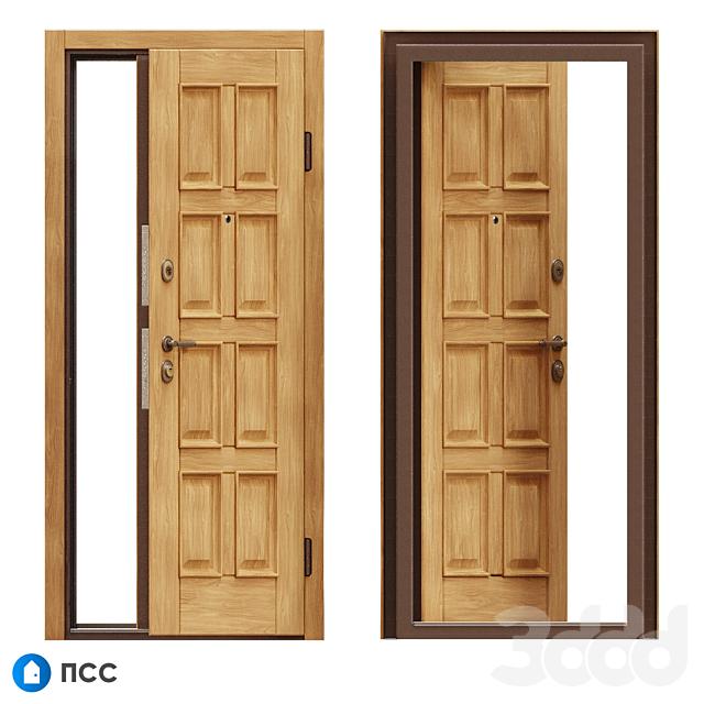 OM Входная дверь ЭКО (ЭКО-81) - ПСС