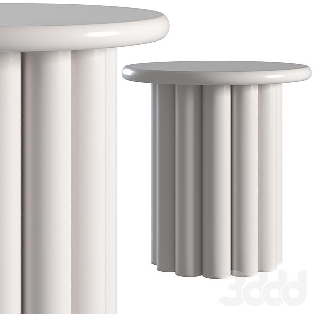 Coffee table Corner Design Unique grey