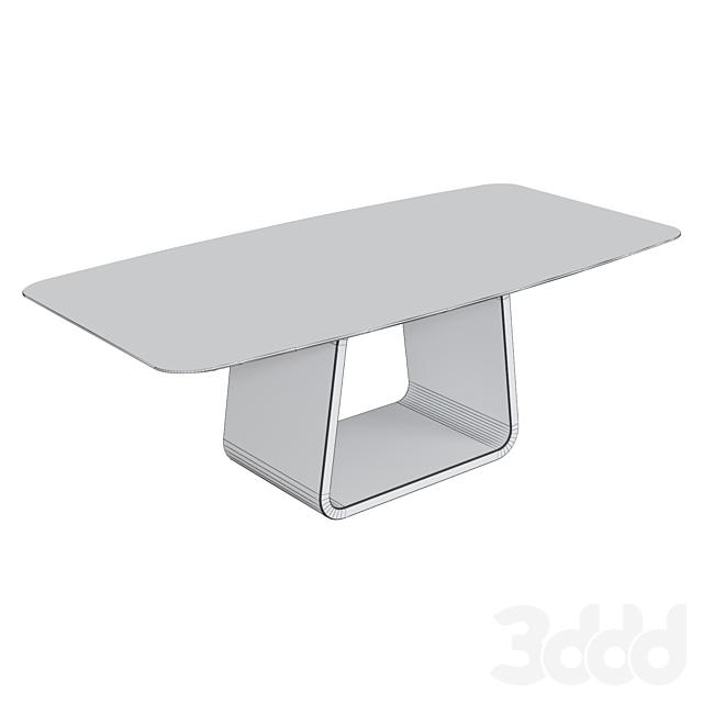 Обеденный стол из керамогранита Kronco Sami