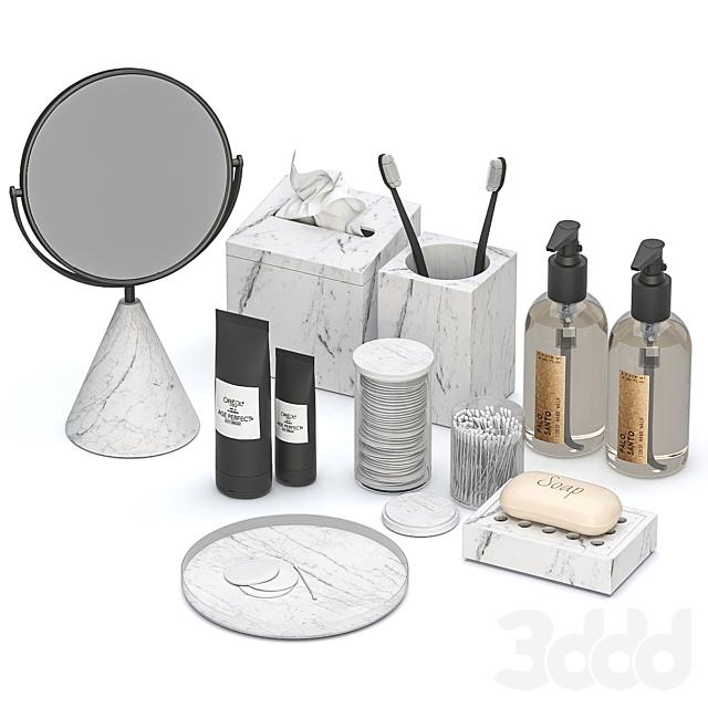 Декоративный набор для ванной BDS 02
