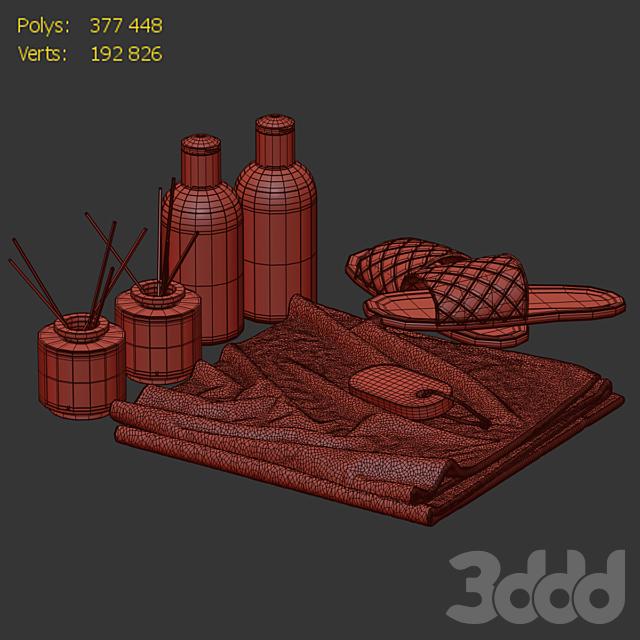 Декоративный набор для ванной BDS 03