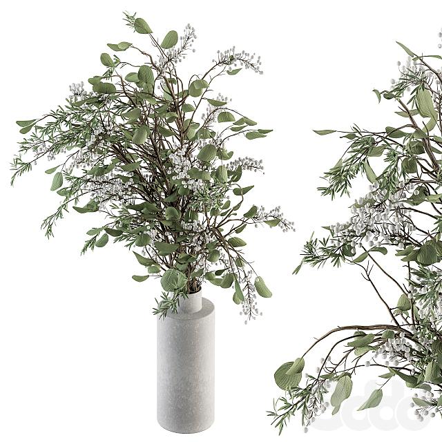 Bouquet - Green Branch in vase 67